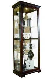 Pulaski Display Cabinet Vitrine by Curios Home Meridian