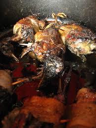 bebert cuisine les grives sur canapé de bébert miammmmmmmm