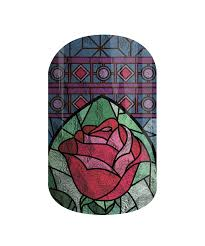 Beauty And The Beast Rose Pumpkin Stencil by Beauty And The Beast Products Jamberry Nail Decals