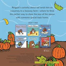 Books About Pumpkins For Toddlers by Amazon Com Penguin And Pumpkin 9781681192178 Salina Yoon Books