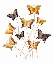 Butterfly Outdoor Wall Decor Of Zulily