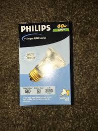 philips 60 watt halogen par16 narrow spot light bulb 330043 ebay