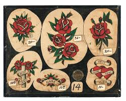 Vintage Tattoo Flash From The Hundred Year Collection Of Jonathan Shaw Amazoncouk 9781576877692 Books