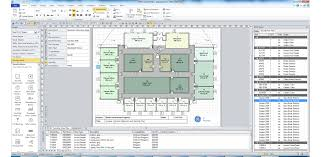 Floor Plan Template Excel by Free Visio Stencils Shapes Templates Add Ons Shapesource