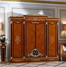 kleiderschrank schlafzimmer holz schrank antik stil barock rokoko schränke e38