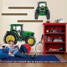John Deere Room Decorating Ideas by John Deere Giant Wall Decals Rungreen Com