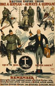 An Anti German Propaganda Poster That References Cavell