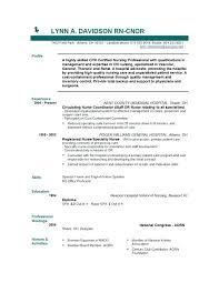 Sample Resume Nursing Student No Experience For Nurses With Nurse Inspirational Of