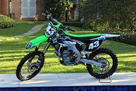 Gifts Delight LAMINATED 36x24 Inches Poster Kawasaki Kx250F Kx450F Monster Energy Factory Bike Design Graphics