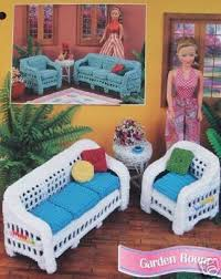Barbie Fashion Living Room Set by 34 Best Crochet Barbie Furniture Images On Pinterest Crafts