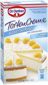 dr oetker torten creme käse sahne
