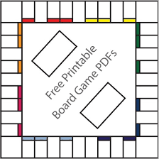 Monopoly Game Board Template