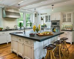 Kitchen Traditional Kitchen Decorating Islands And Carts With