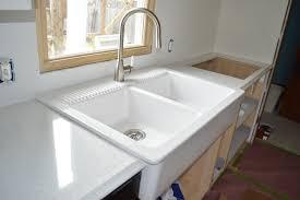 Did Hard Merchandise Sinks by Ordering U0026 Installing Quartz Countertops From Menards