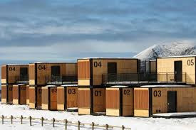 100 Sea Container Accommodation Shipping Container Hotel Can Travel Around The World Curbed