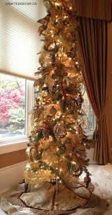 Slimline Christmas Trees Artificial by My Primitive Christmas Tree Oh Christmas Tree Pinterest