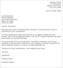 Administrative Assistant Cover Letter Examples Cover Letter Now