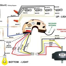 Hunter Ceiling Fan Wiring Diagram Red Wire by Magnificent Wiring Diagram For Hunter Ceiling Fan Remote