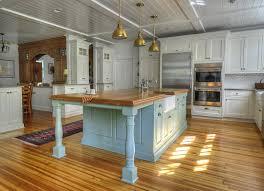 Sage Green Kitchen White Cabinets by Sage Green Kitchen With Cherry Cabinets Kitchen Decoration