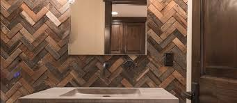 reclaimed wood wall tile