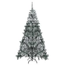 Barcana Christmas Trees Dallas Texas by Snow Flocked Christmas Tree Christmas Lights Decoration
