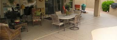 Epoxy Flooring Phoenix Arizona by Concrete Patio Floor Covering U0026 Epoxy Coating Services In Phoenix