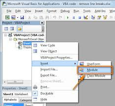 Click Insert Module To Add A New User Defined Function Your Worksheet