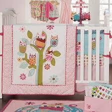 Burlington Crib Bedding by Owls 4pc Crib Bedding Set 313964065 Baby Bedding Sets