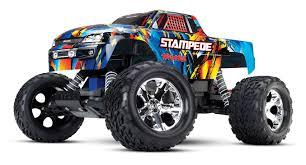 100 Traxxas Trucks 110 Stampede Monster Truck RTR No Batt Charger