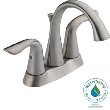 Delta Dryden Faucet Stainless by Bathroom Faucets Staggering Handle Bathroom Faucet Picture