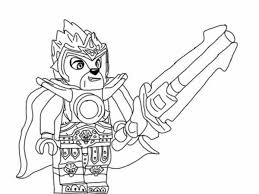 Prince Laval Long Sword Lego Chima Coloring Pages Batch