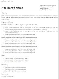 Resume Sample Form In Word Ideas Collection Template Of Latest Furthermore