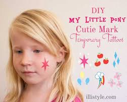 How To Make My Little Pony Cutie Mark Temp Tattoos