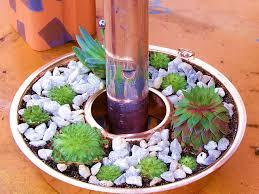jell o mold planter diy