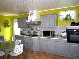 cuisine grise et plan de travail noir cuisine grise avec plan de travail noir de conception
