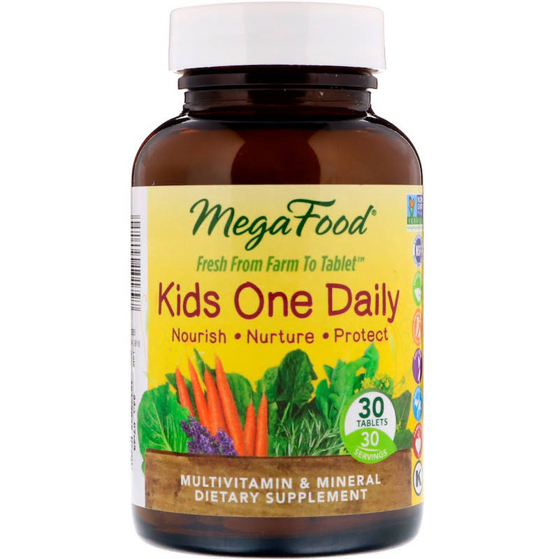 Megafood Kids One Daily Supplement - 30 Count