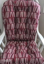 Glider Cushions/Rocker Cushions/ Rocking Chair Cushions/ Glider Rocker  Cushions