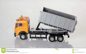 Orange Toy Dump Truck Stock Video. Image Of Disposal - 47407019