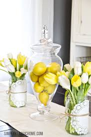 Simple Kitchen Table Centerpiece Ideas by 33 Easter Table Decorations Centerpieces For Easter
