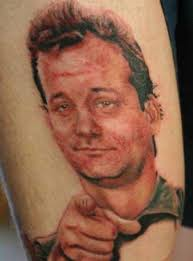 Bill Murray Ghostbusters Fan Tattoo