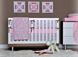 Pink Crib Bedding by Pink Crib Bedding Pattern With Birds Pink Crib Bedding For Girls