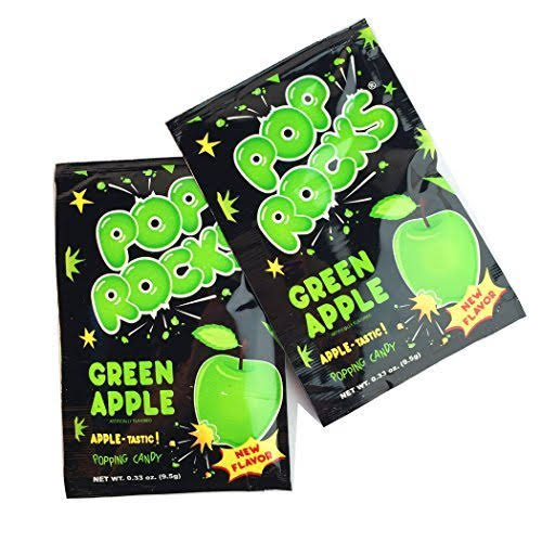 Pop Rocks Popping Candy - Green Apple