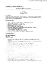 Resume Examples Healthcare Hospital Professional Registrar Templates To Sample For Unit Clerk