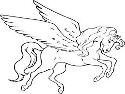 Pegasus Coloring Pages For Adults Medium Size Of With Wallpaper Photo Barbie