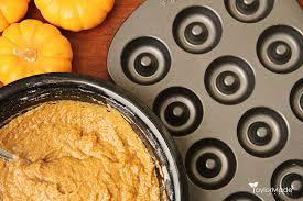 Dunkin Donuts Pumpkin Spice Syrup Vegan by Baked Pumpkin Maple Doughnuts Or Donut Holes U2013 Vegan Taylormade