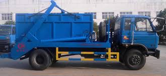 China 4X2 Skip Loader Truck, Garbage Truck And Refuse Truck - China ...