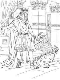 David Helps Mephibosheth Coloring Page From King Select 26073 Printable Crafts Of Cartoons Nature