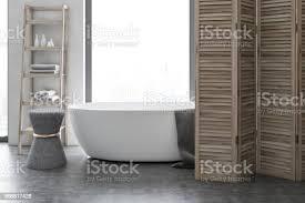 weiß und holz luxus badezimmer interieur stockfoto und mehr bilder architektur