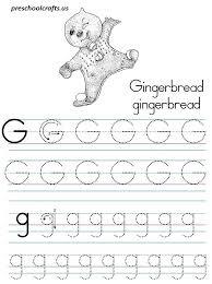 Alphabet Letter G Coloring Pages