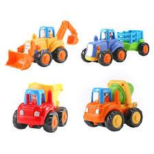 100 Kids Dump Truck New Cars Plastic Children Mini Engineering Car Model Inertia Tractor Vehicles Toys New Cars Toys Plastic Children